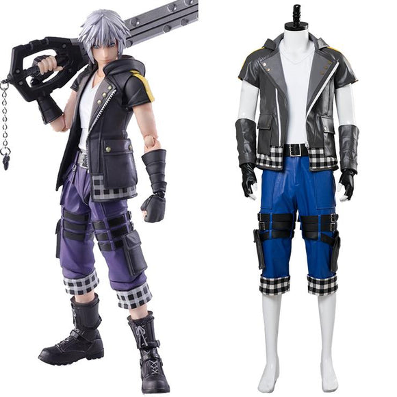 Kingdom Hearts III Riku Cosplay Costume Halloween Cosplay