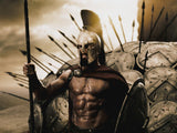 MOVIE 300 SPARTAN Resin Mask Halloween Cosplay