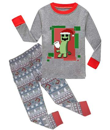 Minecraft Christmas Nightwear for Kids Original Sleepwear