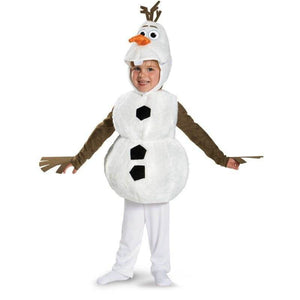 Olaf Snowman White Costume for Kids