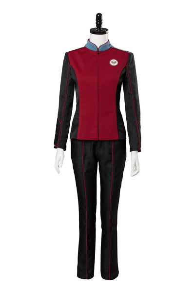 Orville Alara Kitan Cosplay Costume Chief Of Security Uniform Suit