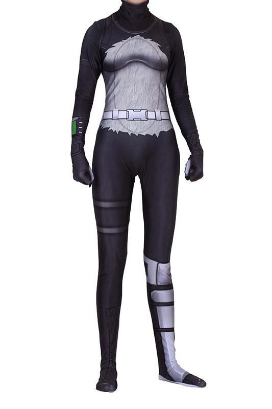 P.A.N.D.A Team Leader Cosplay Costume Halloween Suit For Adults