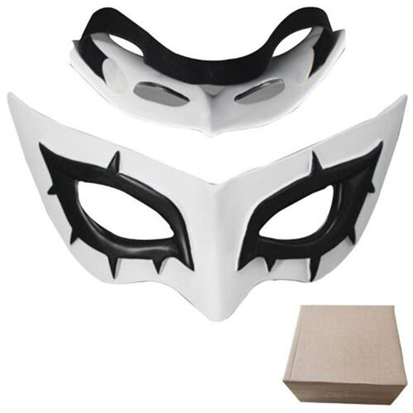 Persona 5 Headgear Cosplay Half Face Headgear for Halloween Carnival