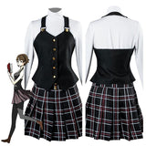 Persona 5 Makoto Niijima Costume Halloween Party Prop for Adult