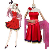 Persona 5 Anne Takamaki Cosplay Costume Red Dress Party