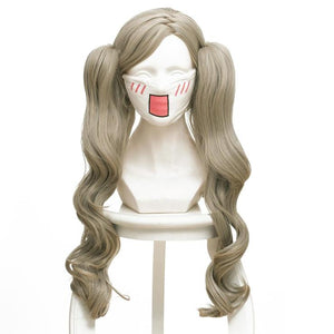 Persona 5 Anne Takamaki Panther Cosplay Wig for Girls Curly Hair