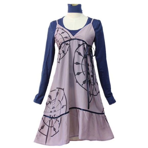 Persona 5 Chihaya Mifune Cosplay Costume Dress Cosplay Women Dress