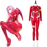 Pilot Jumpsuit Cosplay Costume Red Darling in the FRANXX DFXX 02