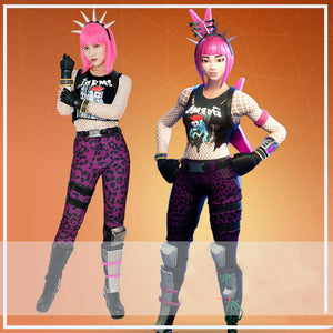 Power Chord Cosplay Costume Whole Set