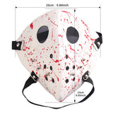Punk Rivet Bloodstain Face Cover Cosplay Props Halloween Party Horror Headgear