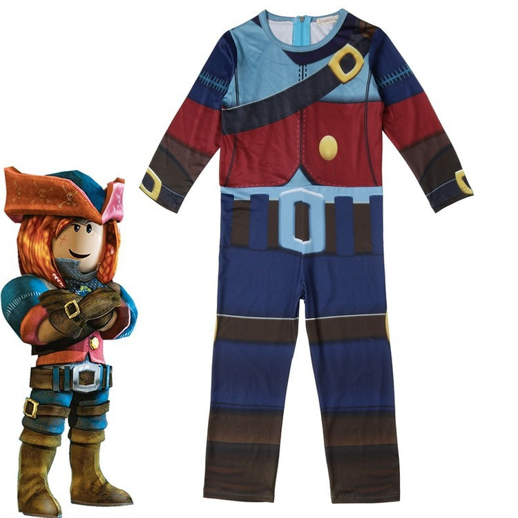 Roblox Costume Cosplay Full Body Onesie Jumpsuit For Boys And