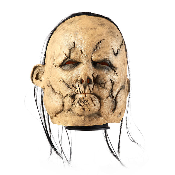 Scary Stories to Tell in the Dark Harold the Scarecrow Mask Latex Cosplay Mask Wigs Halloween Cosplay Accessories
