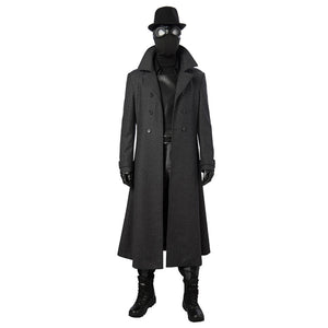 Spider Man Into the Spider-Verse Spider-Man Noir Cosplay Costume Cosplay Deluxe Outfits