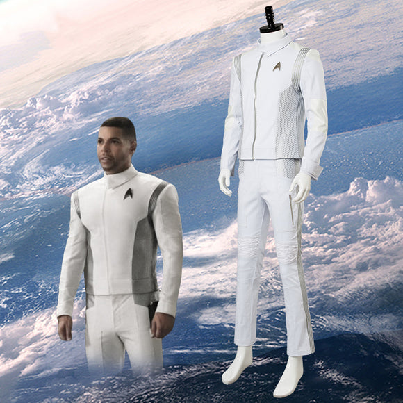 Discovery Cosplay Costume White Uniform Halloween Cosplay Full Set