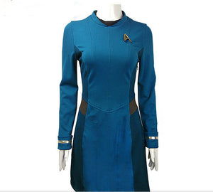 Sience Duty Women Uniform  Dress Costume Adult