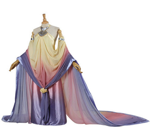 Star Wars 3 Amidala Naberrie Cosplay Costume Dress for Women Halloween Cosplay