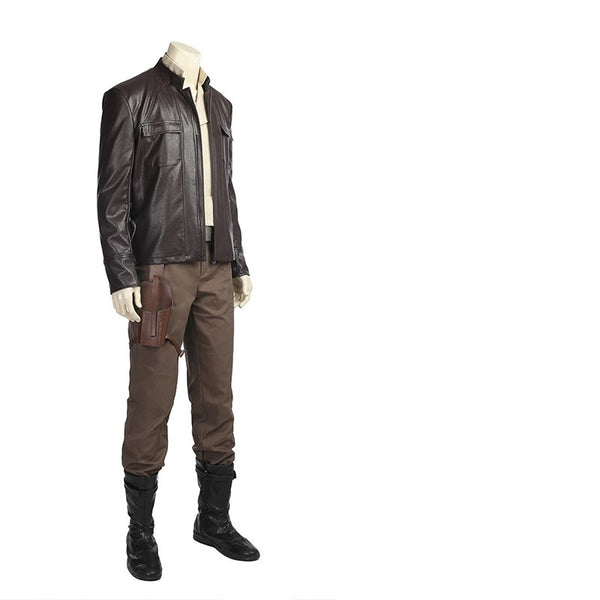 Star Wars 8 The Last Jedi Poe Dameron Cosplay Costume Whole Set Cosplay Halloween