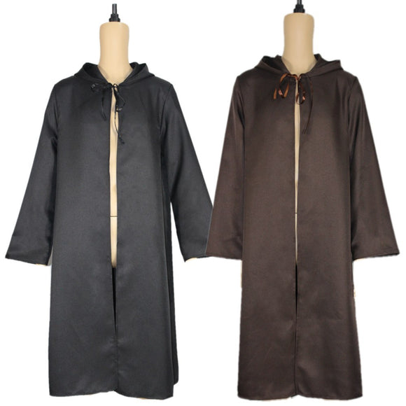 Star Wars Cape Cosplay Costume Black and Brown Costume Cloak Halloween Cosplay
