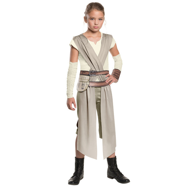 Star Wars Rey Cosplay Costume For Kids Children Cosplay