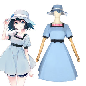 Steins Gate Shiina Mayuri Dress Halloween Costume Prop