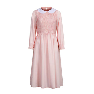 Stranger Things Eleven Dress Halloween Costume For Women