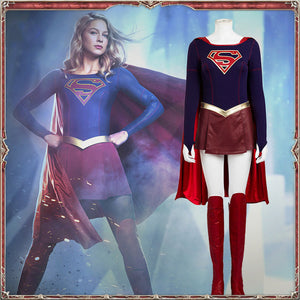 Super Girl Costume Cosplay for Girls Women Dress Cosplay Halloween Adult
