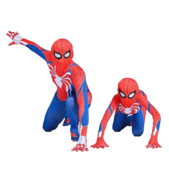 Superhero Ps4 Game Cosplay Costumes Adult 3D Style