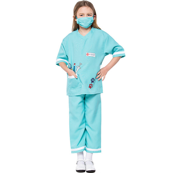 The Vet Costume Halloween Cos for Kids