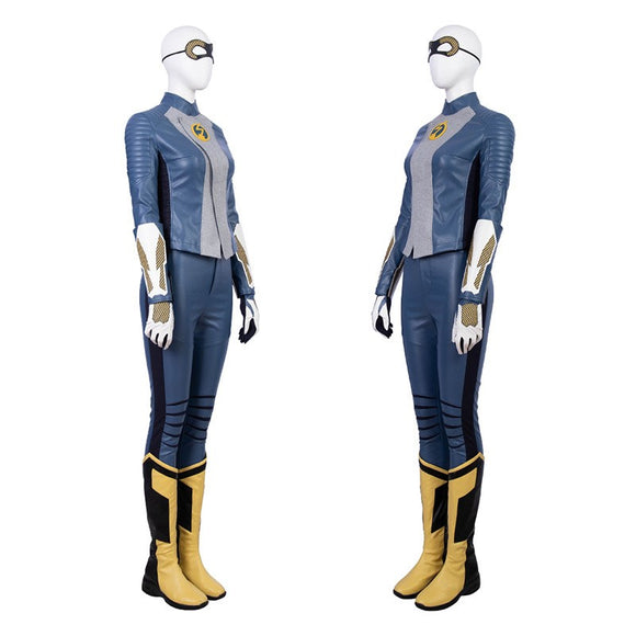 The Flash Season 5 Nora Cosplay Costume Full Suit for Women Halloween Cosplay