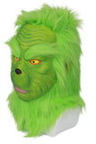 The Grinch Mask How the Grinch Stole Christmas The Movie Cosplay Full Head Green Grinch Mask