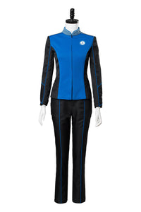 The Orville Kelly Grayson Vice Captain Cosplay Costume Crewman Uniform Suit Coat