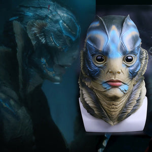 The Shape of Water Merman Headgear Mask Halloween Cosplay