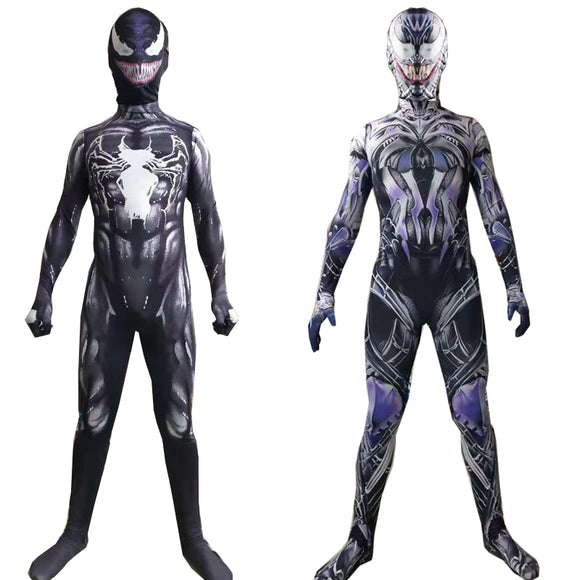 Venom Costume Spiderman Jumpsuit Unisex 3D Jumpsuit Tights