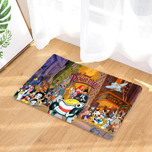 Who Framed Roger Rabbit Rug Door Mats Floor Mats