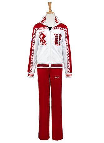 Yuri on Ice Viktor Nikiforov Uniform Cosplay Costume Coat and Pants