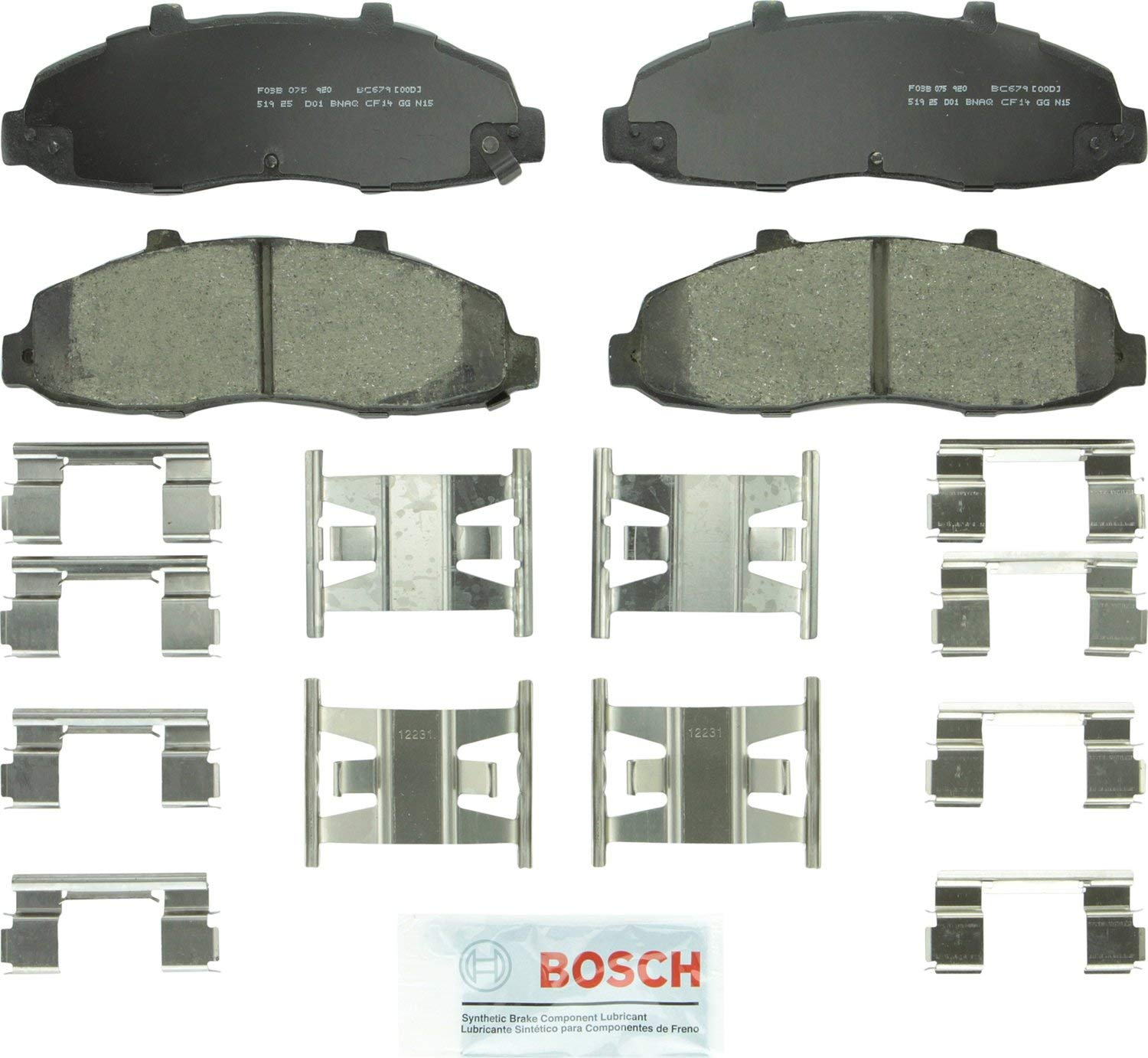 Blackwood Lincoln F-150 For Ford F-150 Heritage Front  Ceramic Brake Pads