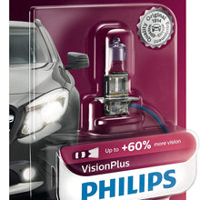 1 Pack Philips 9008 VisionPlus Upgrade Headlight Bulb with up to 60/% More Vision