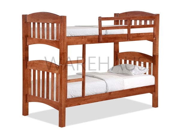 Regina Double Deck Bunk Bed - simplehomefurn