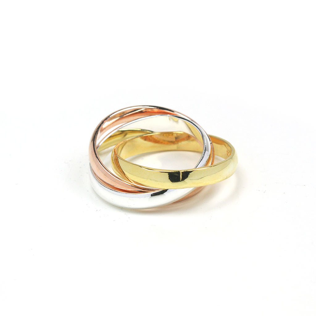 Three Layers Ring