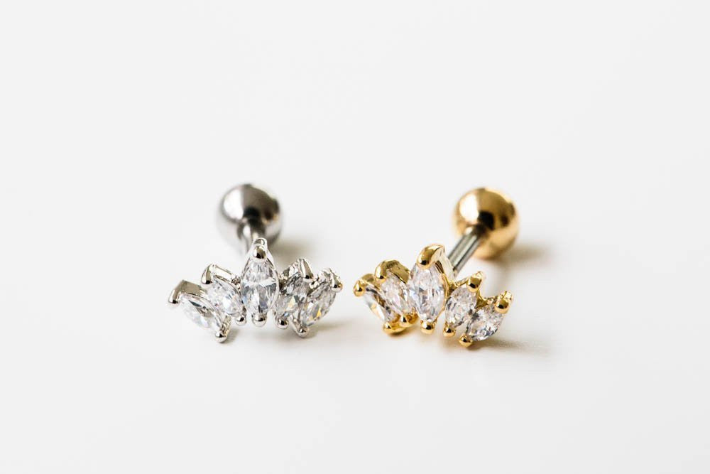 Crown stones piercing
