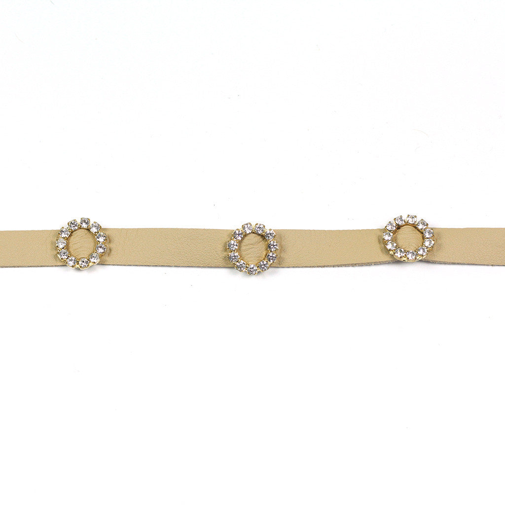 Camel Jeweled Choker