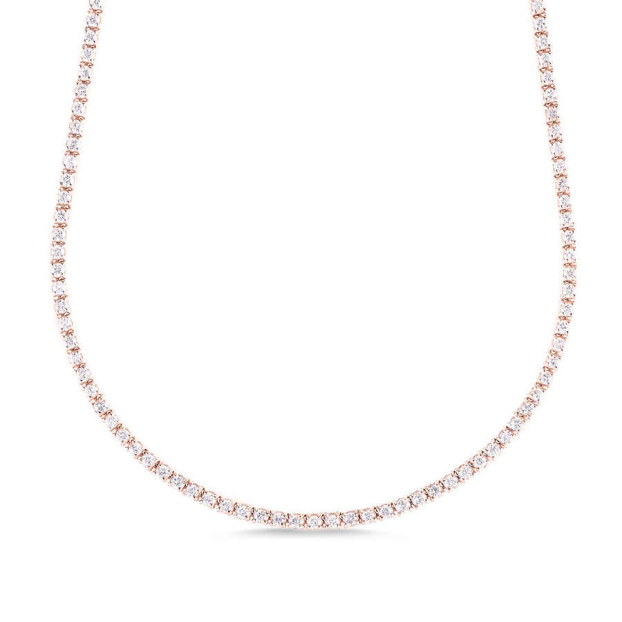 5.25 ct Tennis Necklace