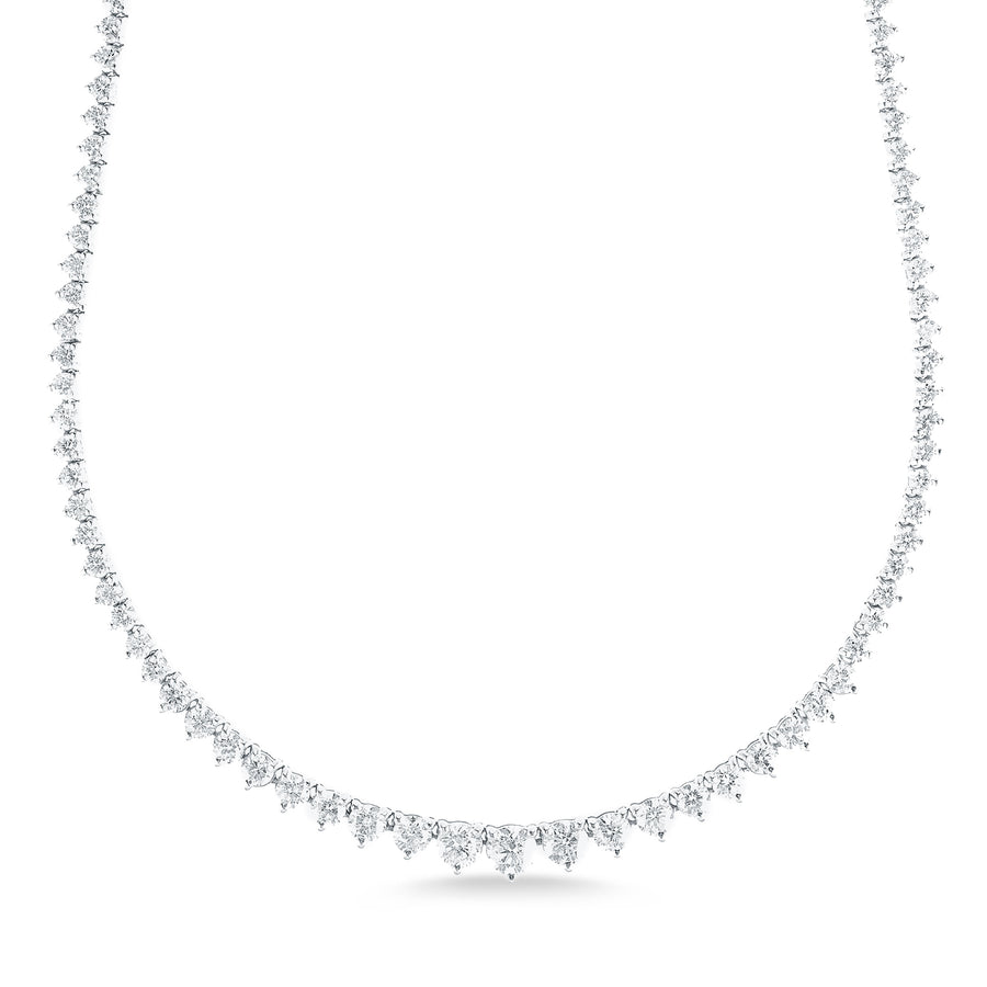 6.50 ct Tennis Necklace