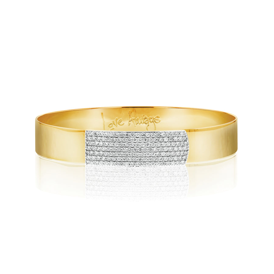 Affair Diamond Bar Strap Bracelet - Jo Latham