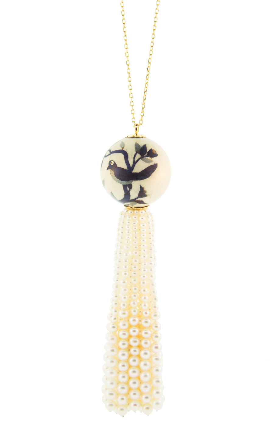 Ball Tassel Necklace