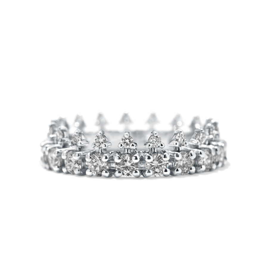 Declan Eternity Band - White Diamond - Jo Latham