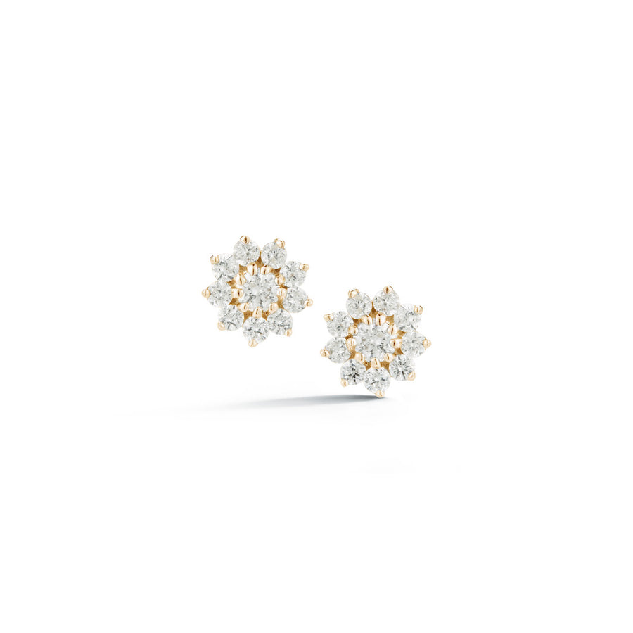 Pointed Flower Studs - Jo Latham