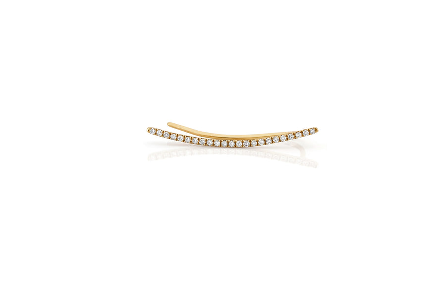 Curved Bar Ear Cuff - Jo Latham