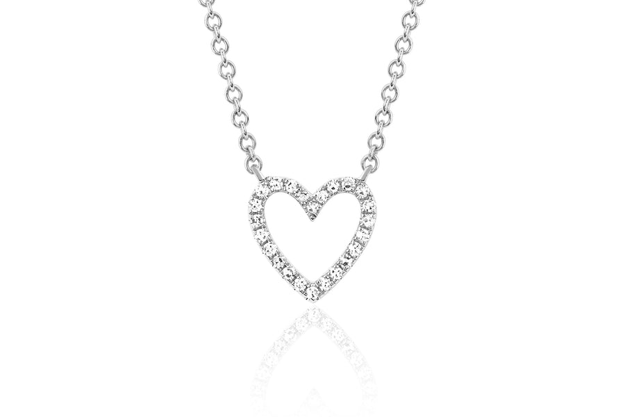 Open Heart Necklace - Jo Latham