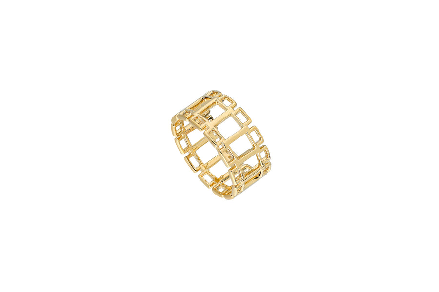 Geometric Ring - Jo Latham